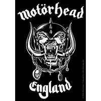 Motorhead- England sticker (st322)