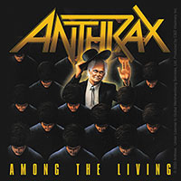 Anthrax- Among The Living sticker (st327)