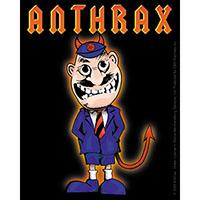 Anthrax- Devil Man sticker (st33)