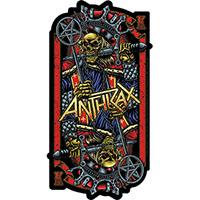 Anthrax- King sticker (st34)