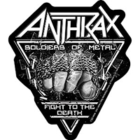 Anthrax- Soldiers Of Metal sticker (st210)