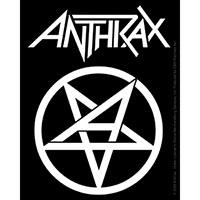 Anthrax- Pentagram sticker (st35)