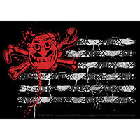 Anthrax- Man Flag sticker (st350)