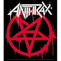 Anthrax- Pentagram sticker (st219)