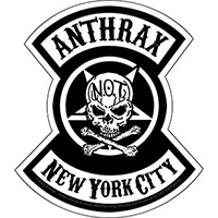 Anthrax- New York City sticker (st21)
