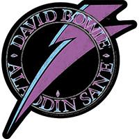 David Bowie- Alladin Bolt sticker (st503)