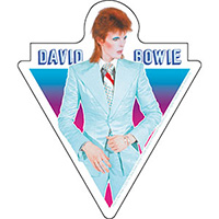 David Bowie- Blue Suit sticker (st506)