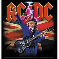 AC/DC- Angus Flag sticker (st528)