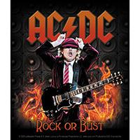 AC/DC- Angus Flames sticker (st529)
