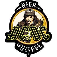 AC/DC- High Voltage sticker (st532)