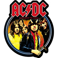 AC/DC- Highway To Hell sticker (st533)
