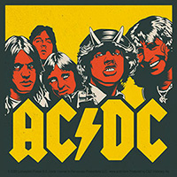 AC/DC- Highway To Hell Faces sticker (st534)