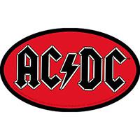 AC/DC- Oval Logo sticker (st535)