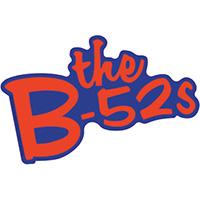 B-52's- Logo sticker (st459)