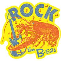 B-52's- Rock Lobster sticker (st46)