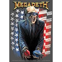 Megadeth- American Grenades sticker (st252)