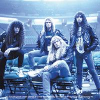 Megadeth- Band Pic sticker (st253)