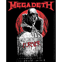 Megadeth- Forever sticker (st254)