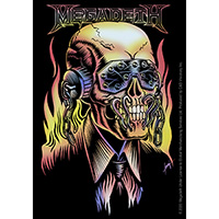Megadeth- On Fire sticker (st256)
