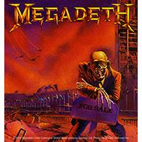 Megadeth- Peace Sells sticker (st257)