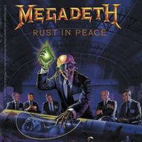 Megadeth- Rust In Peace sticker (st258)