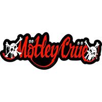 Motley Crue- Logo & Skulls sticker (st13)