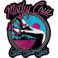 Motley Crue- Girls Girls Girls sticker (st130)