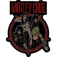 Motley Crue- Band Pic sticker (st131)