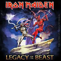 Iron Maiden- Legacy Of The Beast Sticker (st160)