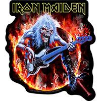 Iron Maiden- Flaming Eddie Sticker (st17)
