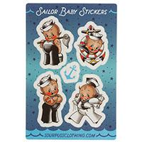 Sailor Baby Sticker Set by Sourpuss sticker (st90)