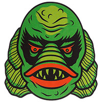 Creature Sticker by Sourpuss sticker (st92)