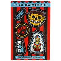 Freak Show Sticker Set by Sourpuss sticker (st96)