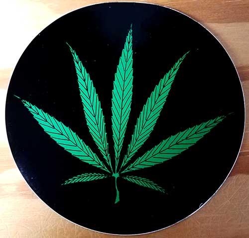 Marijuana sticker (st115)
