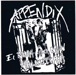 Appendix- Band Pic sticker (st748) (Sale price!)