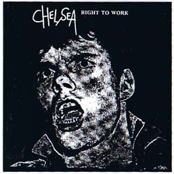 Chelsea- Right To Work sticker (st829) (Sale price!)