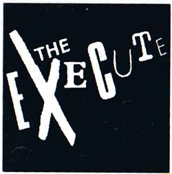 Execute- Logo sticker (st855) (Sale price!)