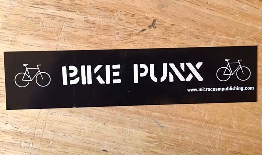 Bike Punx sticker (st151)