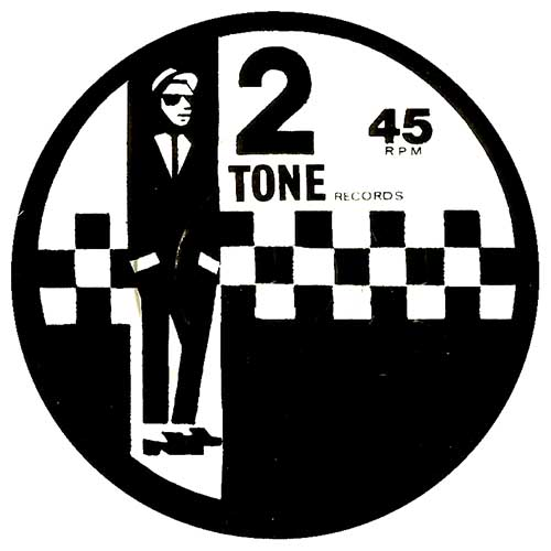 2 Tone Label sticker (st114)