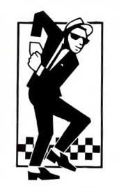 2 Tone Walt Jazzco sticker (st109)