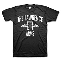 Lawrence Arms- Flappy on a black shirt