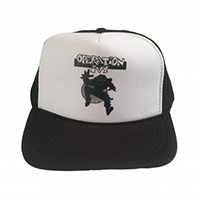Operation Ivy- Ska Man on a black/white trucker hat