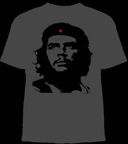 Che Guevara- Classic Pic on a grey shirt (Sale price!)