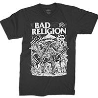 Bad Religion- Wasteland on a black shirt