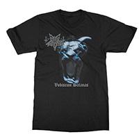 Dark Funeral- Vobiscum Satanas on a black shirt