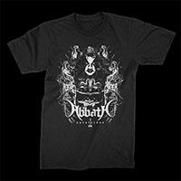 Abbath- Ghost Skeletons on a black shirt
