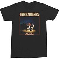 Menzingers- Hello Exile on a black ringspun cotton shirt