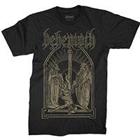 Behemoth- Crucifix on a black shirt