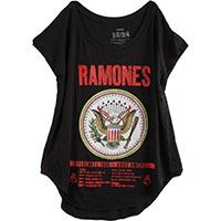 Ramones- Farewell Tour (Glitter Print) on a black girls shirt (Sale price!)
