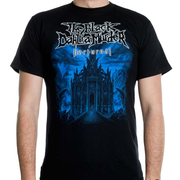 Black Dahlia Murder- Nocturnal on a black shirt